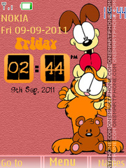 Garfield With Odie es el tema de pantalla