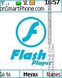 Adobe - Flash Player es el tema de pantalla