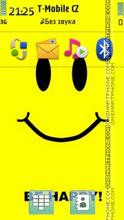 Be Happy 12 es el tema de pantalla