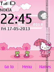 Hello Kitty Live Theme es el tema de pantalla