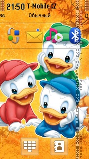 Three Brothers In Duck Tales es el tema de pantalla