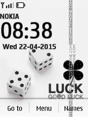 Good Luck Animated es el tema de pantalla