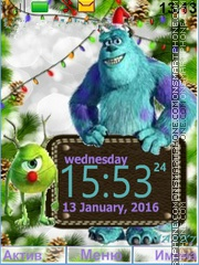 MONSTERS, INC es el tema de pantalla