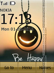 Be Happy 13 es el tema de pantalla
