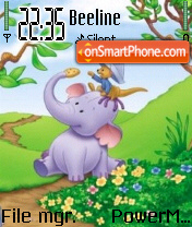 The Pooh and friends es el tema de pantalla